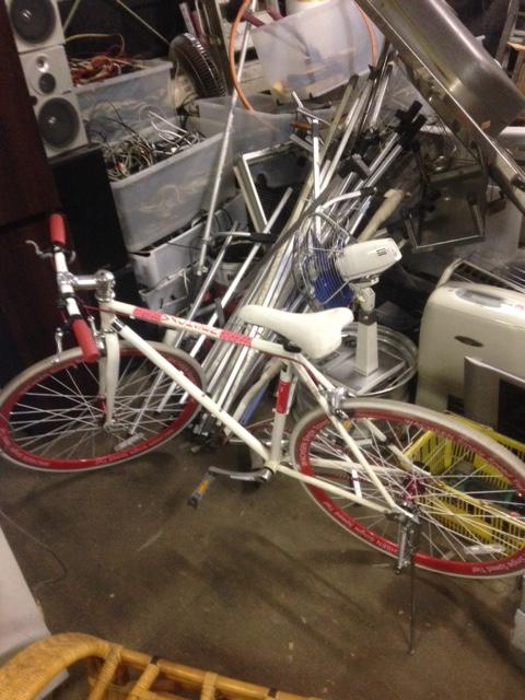 福山市沼隈町付近で回収させて頂いたロードバイク