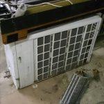 福山市で不用品として回収したエアコン