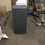 福山市多治米町付近で回収した冷蔵庫です。