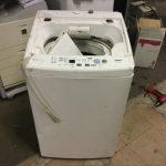 福山市金江町付近でで洗濯機の回収