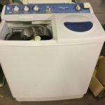 福山市川口町付近でで洗濯機の回収