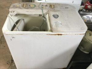 福山市木之庄町付近で回収した洗濯機です。