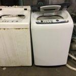 福山市で洗濯機の回収をさせて頂きました。