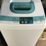 福山市田尻町付近で回収した洗濯機です。