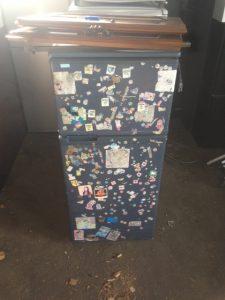福山市神辺町新湯野不用品回収_小型冷蔵庫