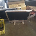 福山市千田町付近で回収した液晶テレビです。