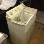 福山市港町付近で回収した洗濯機です。