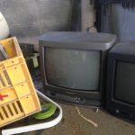 福山市南本庄_不用品回収_ブラウン管テレビ