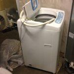 尾道市久山田町付近で回収した洗濯機です。
