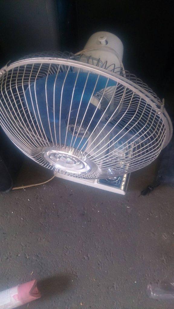 不用品回収_福山市新市町常_扇風機