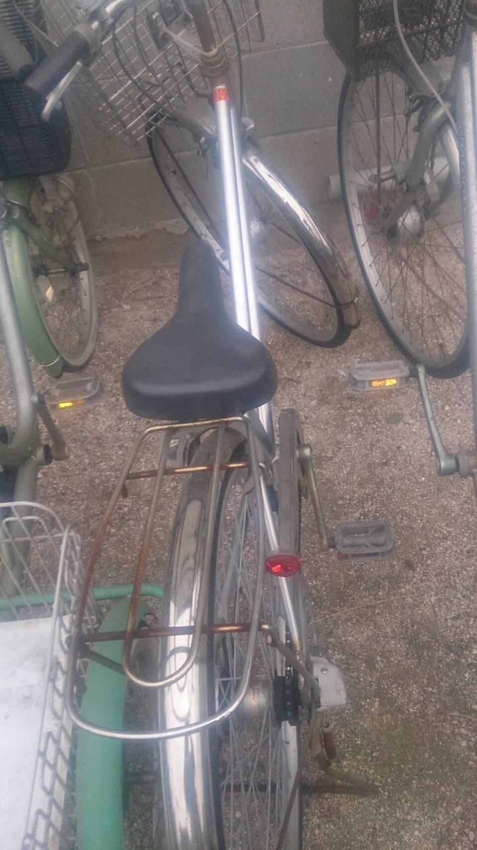 福山市長者町付近で回収した自転車です。