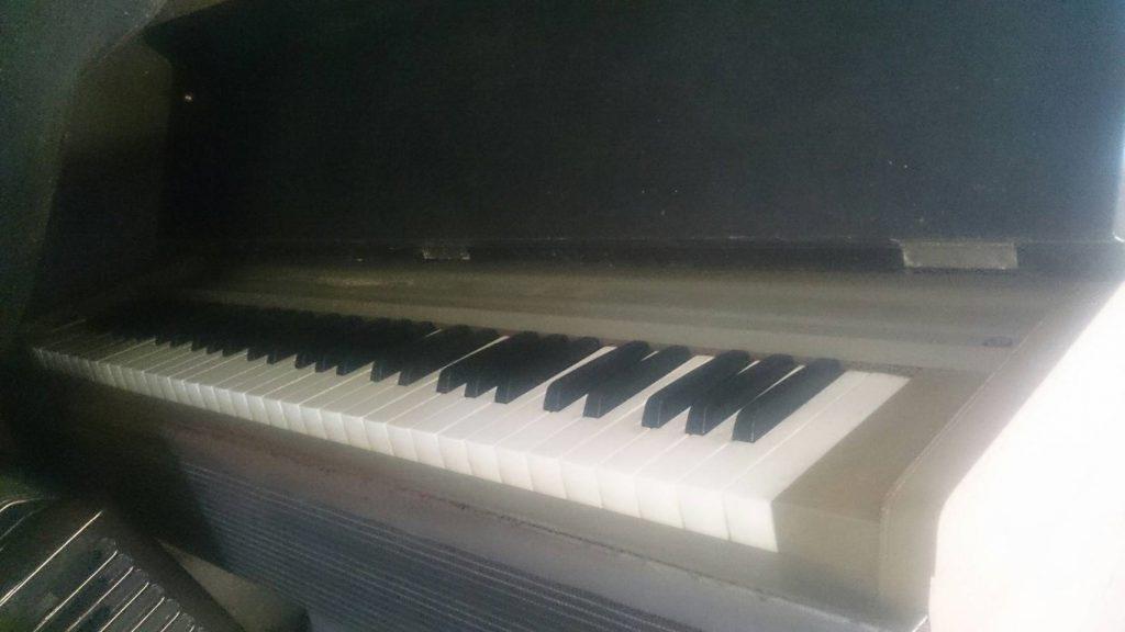 倉敷市児島小川で回収したピアノ