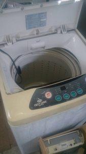 福山市御船町付近で回収した洗濯機です。