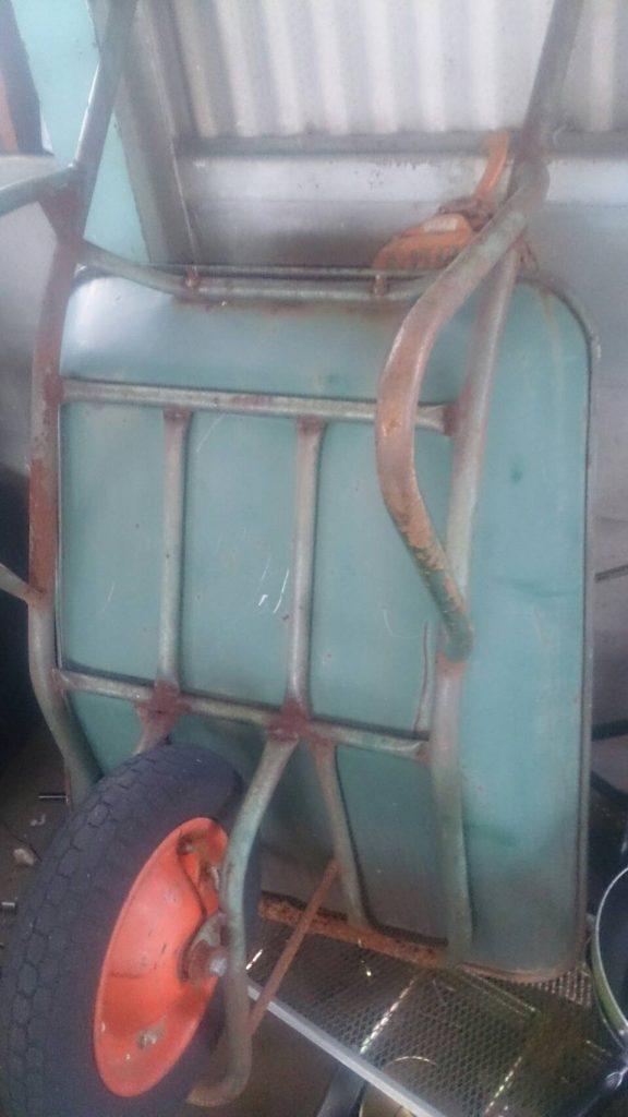 福山市北本庄で回収した一輪車