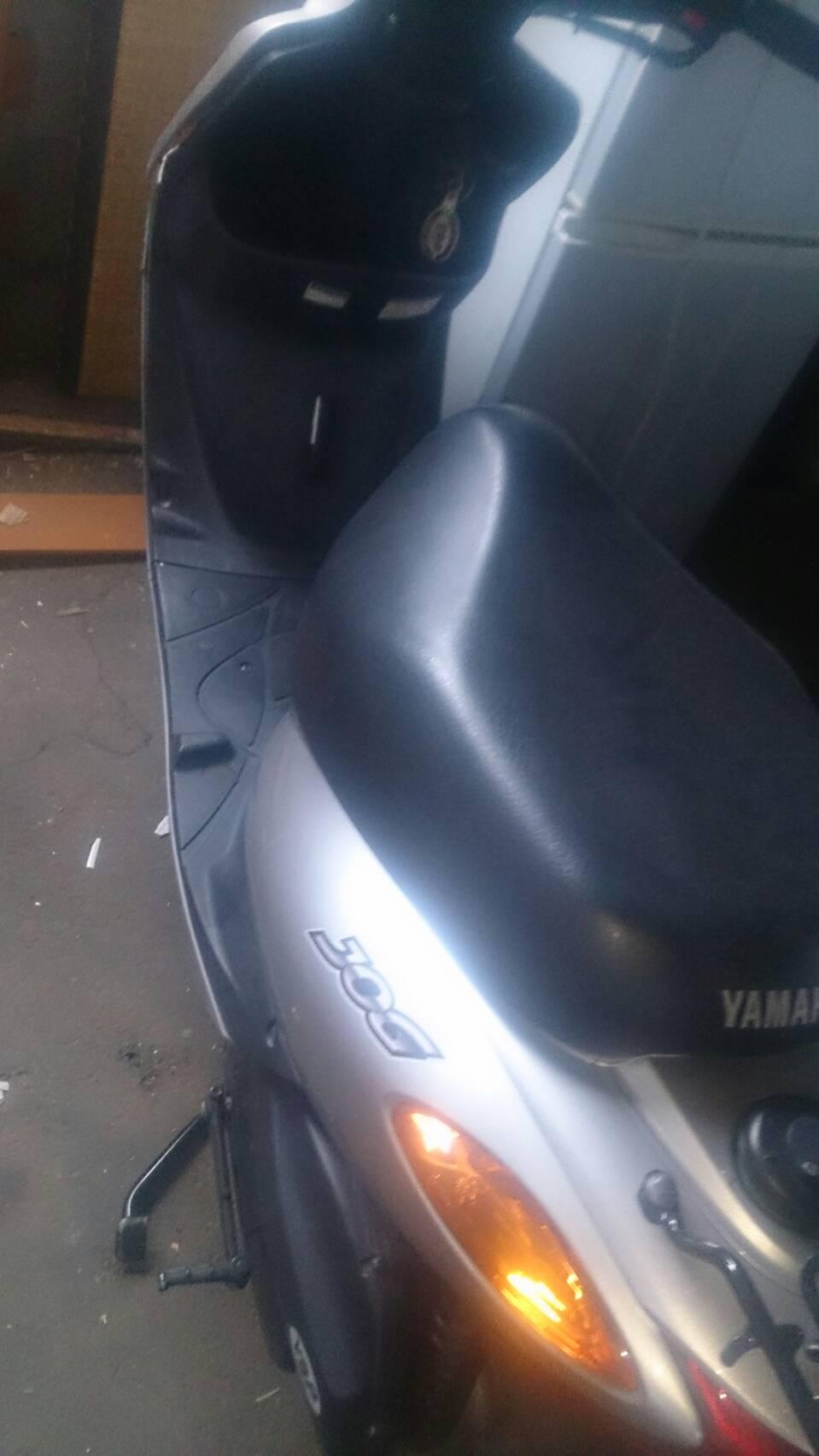 福山市上安井付近で回収したバイクです。