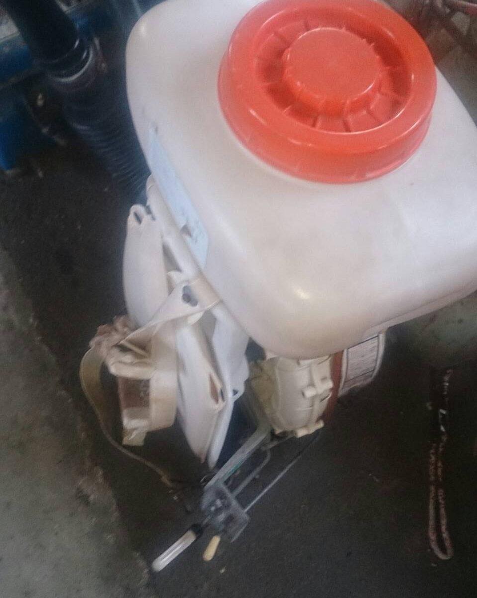 福山市北本庄で回収した農機具