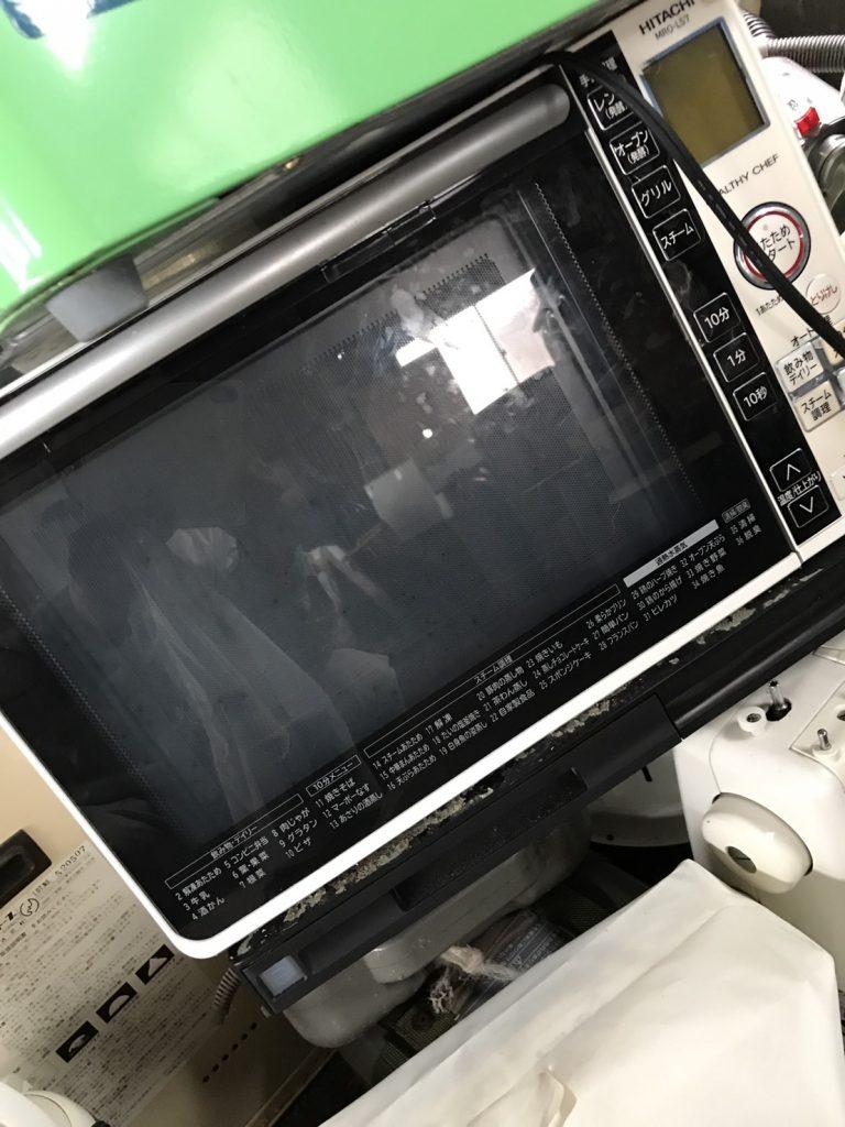 倉敷市白楽町で回収した電子レンジ