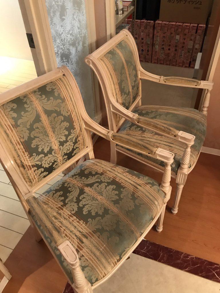 美容サロン椅子の交換2
