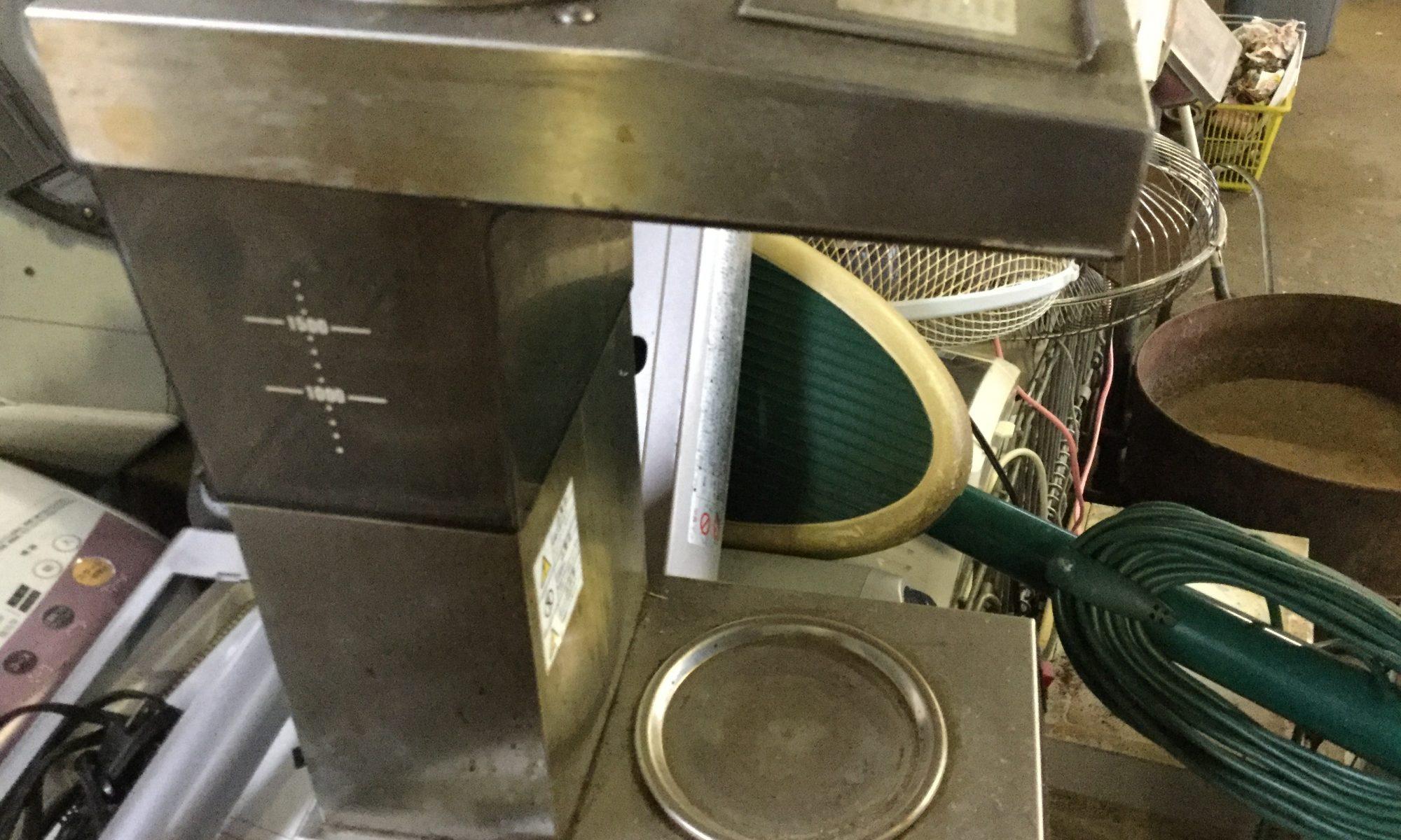 福山市松永町で回収したコーヒー機