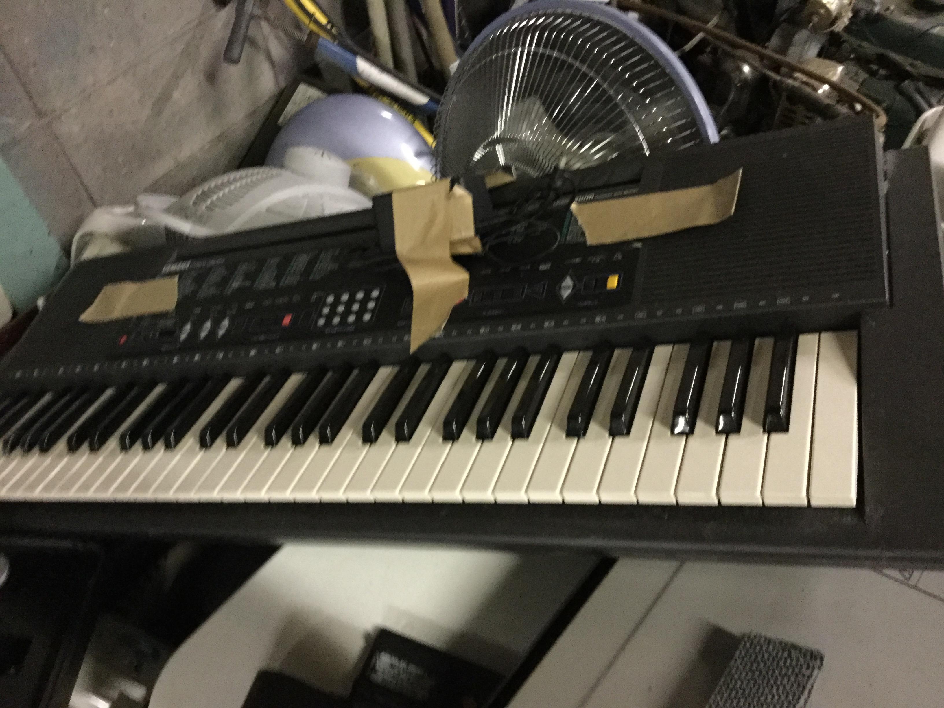 福山市神辺町付近で回収したキーボード
