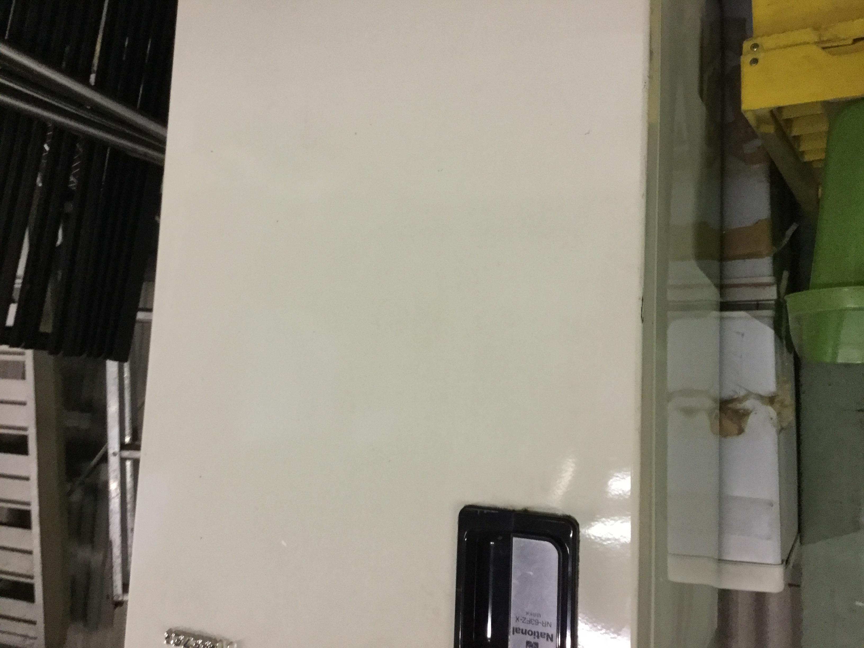 福山市郷分町付近で回収した冷蔵庫