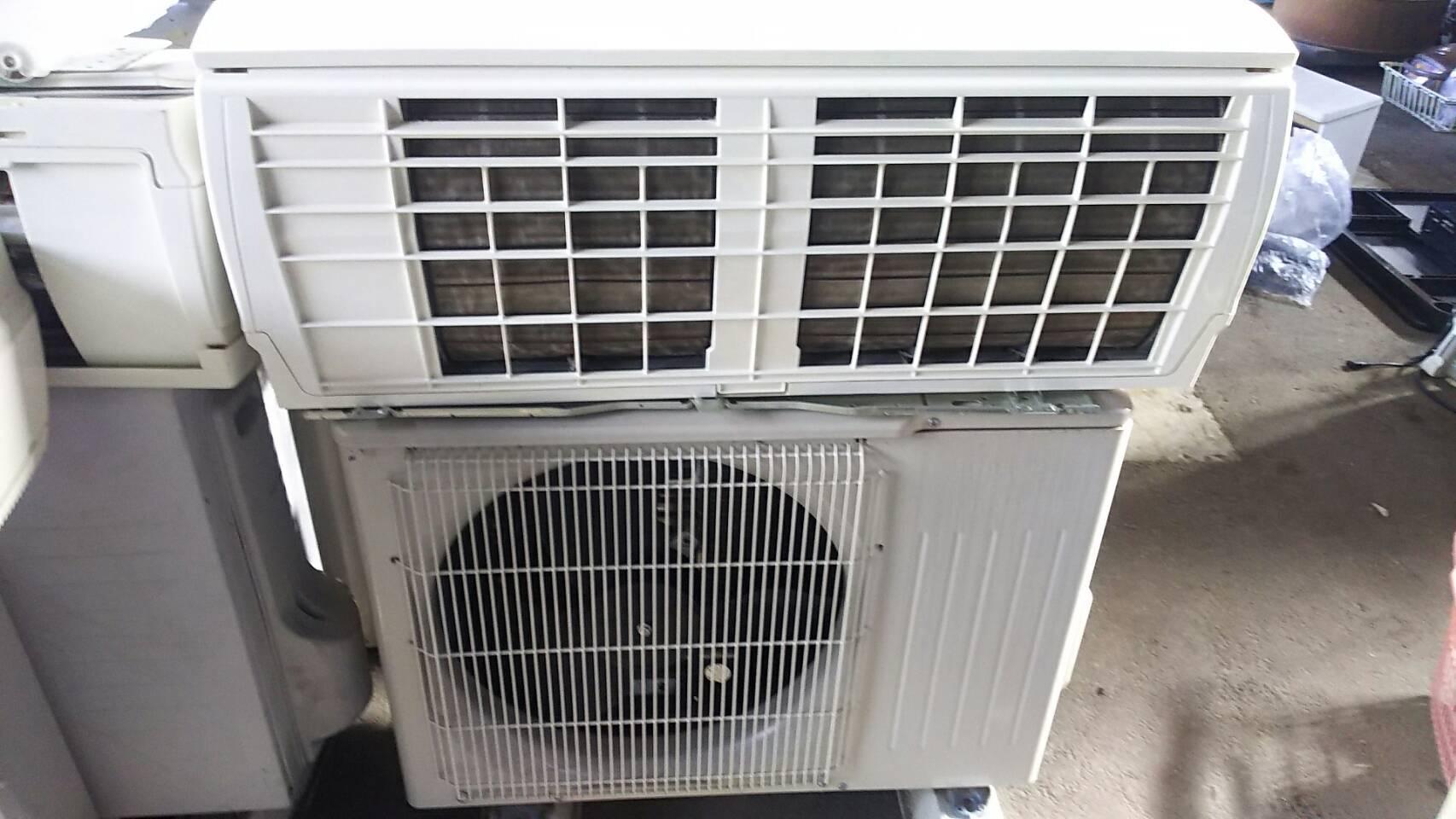 福山市でエアコンの取り外しからエアコン回収