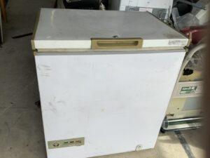 福山市今津町で回収した業務用冷蔵庫