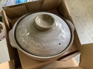 福山市伊勢丘で回収した土鍋
