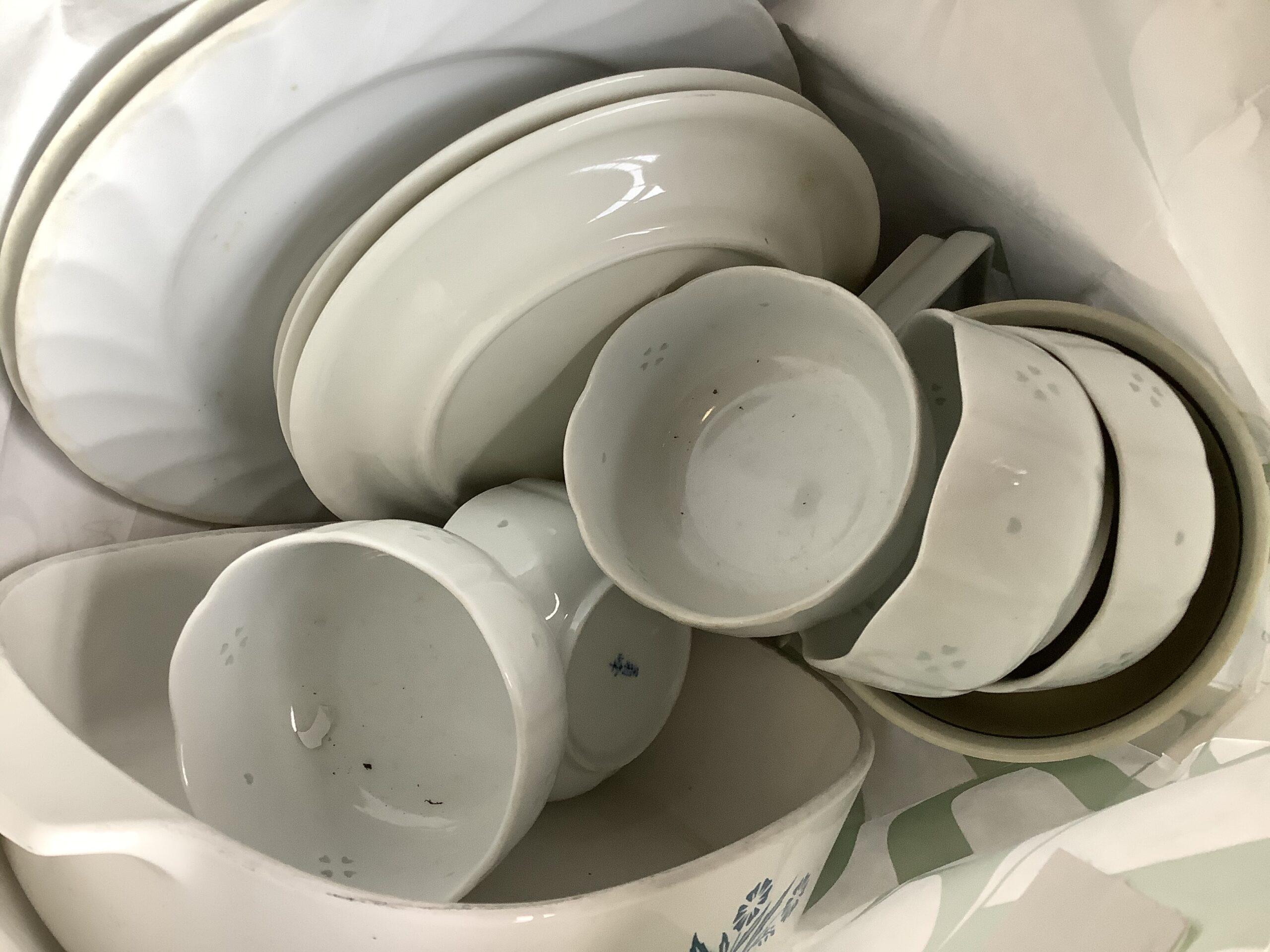 福山市新市町で回収した食器