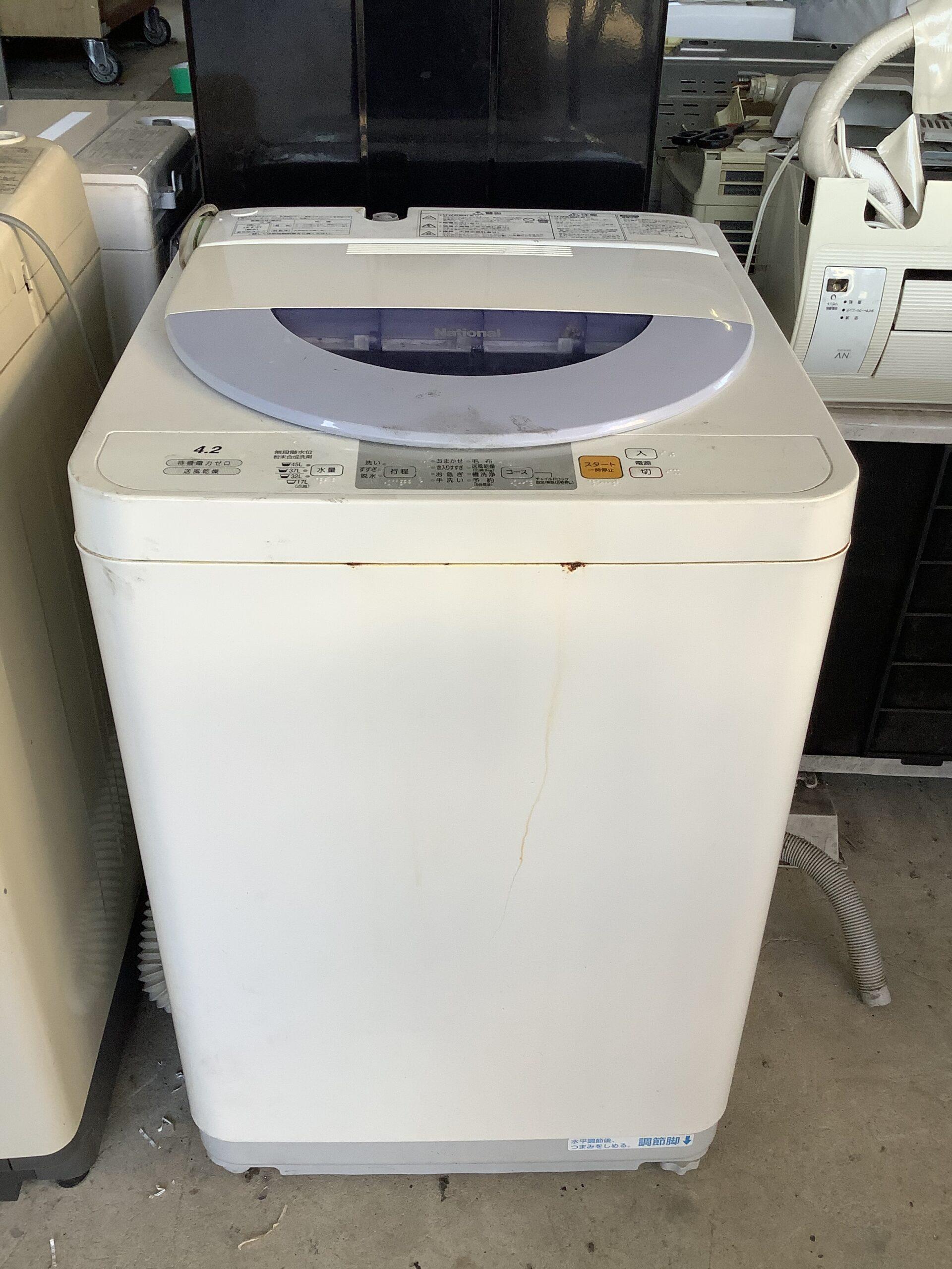 福山市引野町で回収した洗濯機