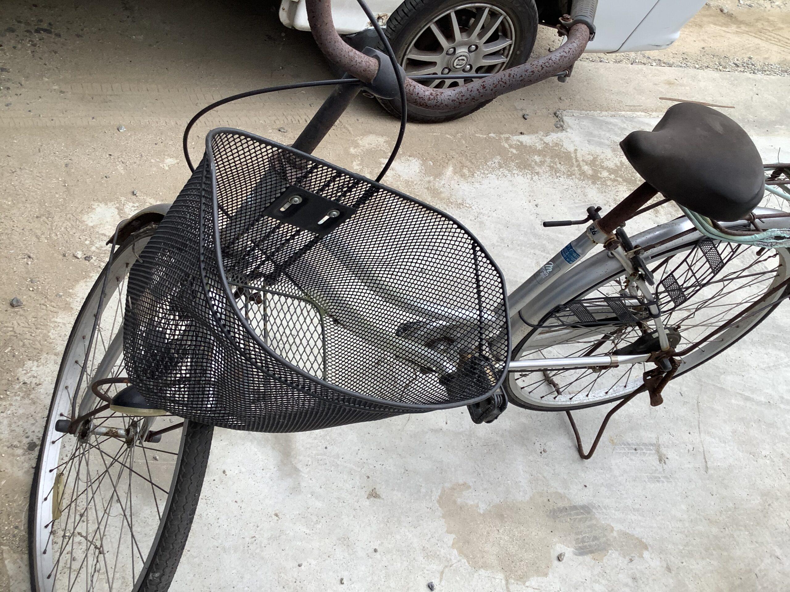 福山市神辺町で回収した自転車