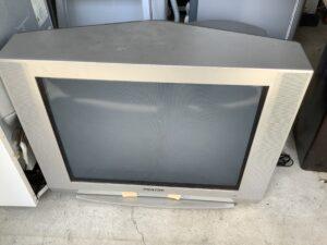 福山市大門町で回収したブラウン管テレビ