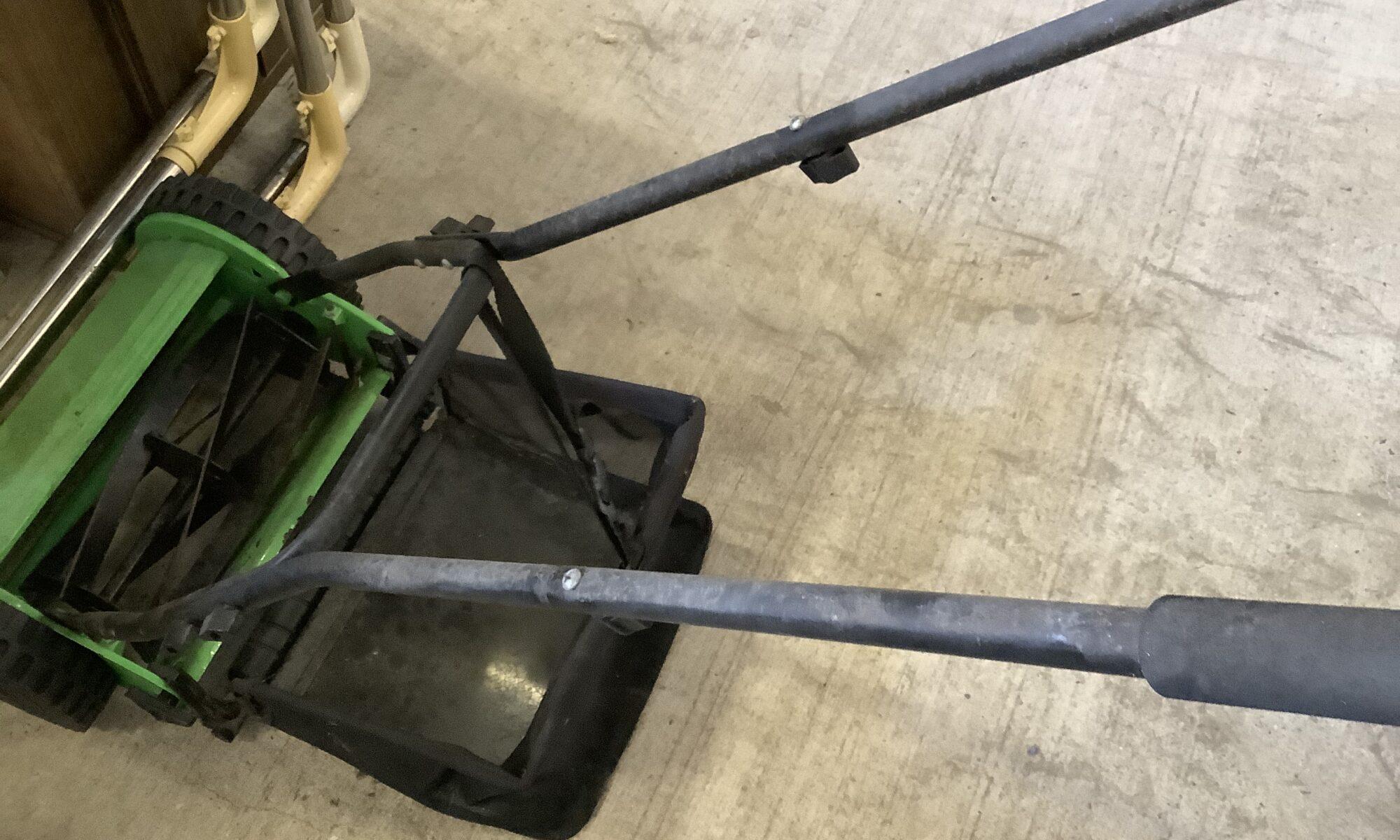 福山市神辺町で回収した芝刈り機