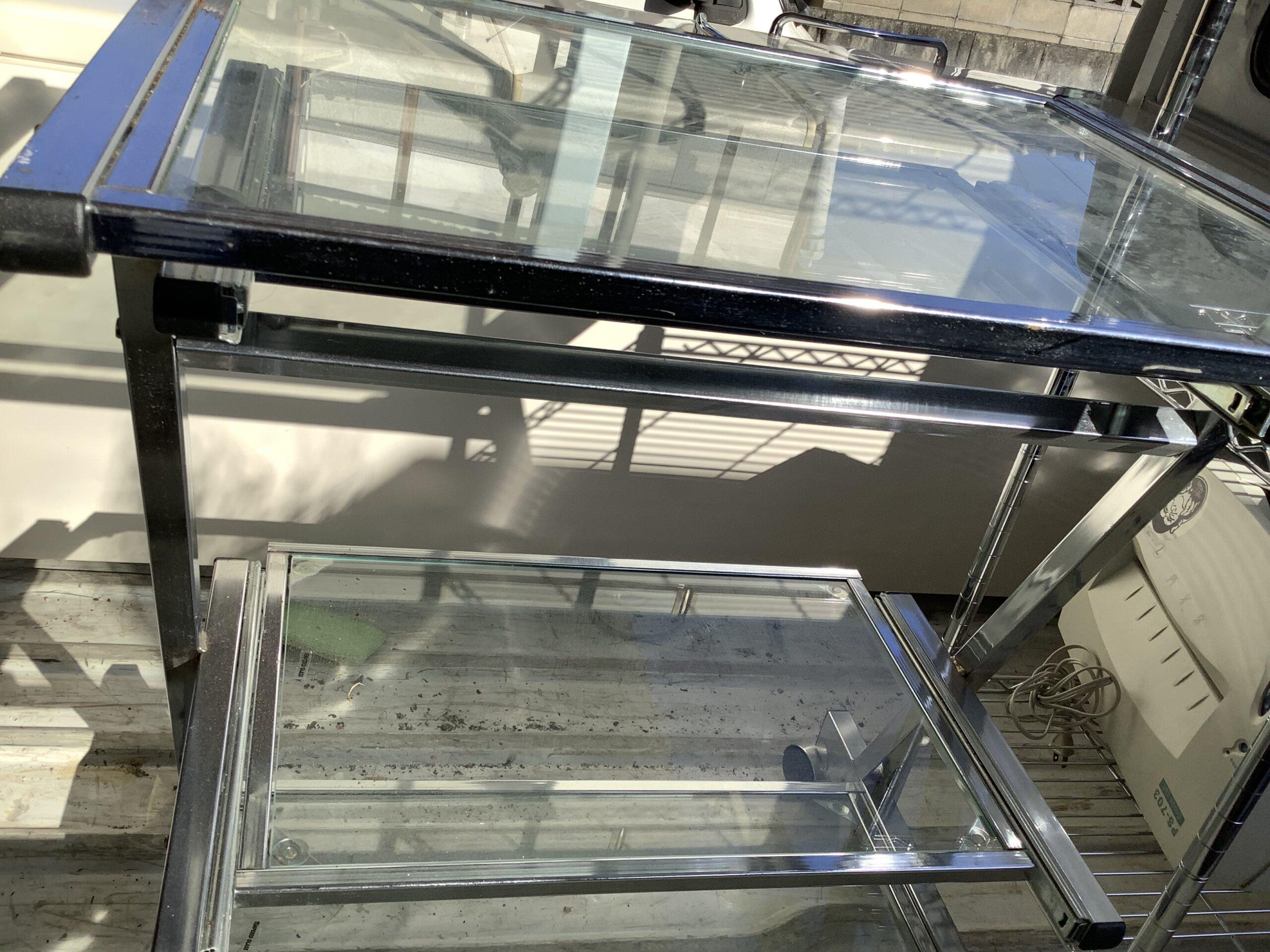 福山市伊勢丘で回収したガラステーブル